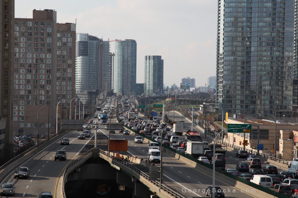 Gardiner Expressway Traffic