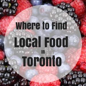 Local Food Toronto